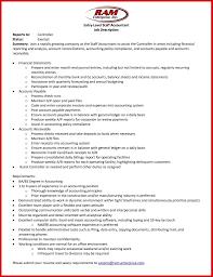 Accountant Duties Resume Resume Online Builder