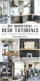 home office world. 10+ DIY Industrial Desk Tutorials For Your Home Office World A