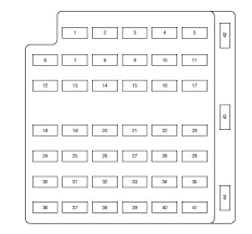 fuse box diagram for 2004 ford crown victoria wiring diagrams 1999 Mercury Mountaineer Power to Trailer at 1999 Mercury Mountaineer Fuse Box Diagram