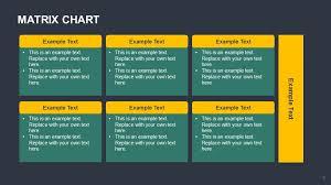 Matrix Chart Powerpoint Matrix Chart