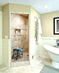 walk in shower no door. Walk In Showers No Doors Door Shower Alluring Tiled . S