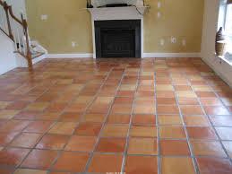 Terra Cotta Floor Tile Kitchen Terra Cotta Tile With Typical Color Variations Terracotta Floor