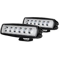 com led light bar nilight pcs w spot lights led pods led light bar nilight 2pcs 18w spot lights led pods off road work light led fog