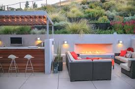 Designing A Contemporary Garden With Warmth Garden Design Adorable Garden Ideas And Outdoor Living Magazine Minimalist