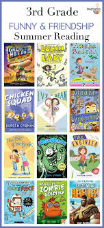 3rd grade summer reading list funny and friendship books