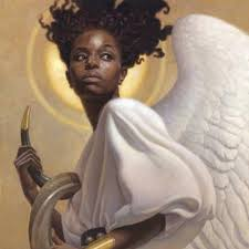 Image result for African American Guardian Angels