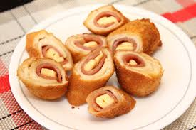 Marryls Ham And Cheese Bread Roll Ups Marryl Crafts