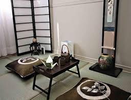 Japanese Style Living Room Furniture Japanese Living Room Furniture Set Ceramic Flooring Blue Cushion