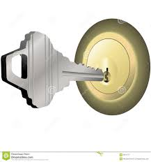 Key and door lock stock photo Image of gold house isolated 34806154