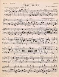 printable vintage sheet music antique printable sheet music for valentines day printable sheet