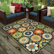 image of beautiful camper outdoor rugs