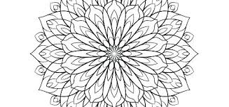 Cool Flower Coloring Pages Simple Flowers Coloring Pages Colouring