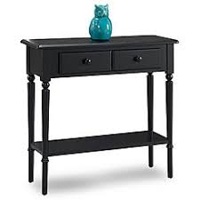 espresso entryway table. Leick Swan Black Coastal Narrow Hall Stand/Sofa Table W/Shelf Espresso Entryway