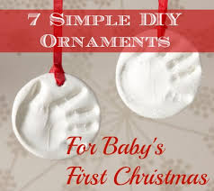 7 Simple DIY Ornaments for Baby's First Christmas | Disney Baby