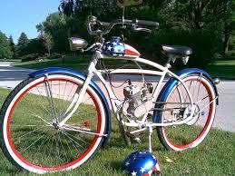custom motored bicycles home