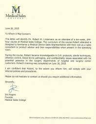 College Recommendation Letters Extraordinary Letter Of Recommendation Jim RogersCEOMedical Sales College