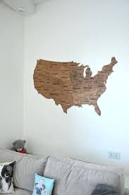 wood usa wall map fathers day gift wall map wooden united states map of travel art rustic home wooden usa map wall art wooden usa wall map