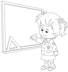 Small Picture School Girl Coloring Page High School Musical Coloring Pages