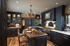 Antique Black Kitchen Cabinets Impressive Inspiration Ideas