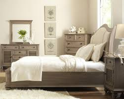 Dimora Queen Upholstered Bed White American Signature