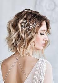 أفكار وصور تسريحات الشعر القصير للاعراس موقع العروس