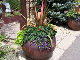Small Picture Great ideas for a patio collection of potted plants Description