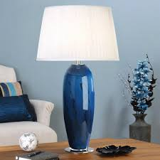 permalink to 15 unique blue glass table lamp