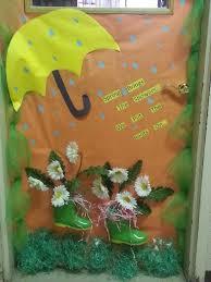 68 best Spring door decorations images on Pinterest Classroom