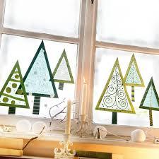 Fensterdeko Weihnachten Basteln Papier Groningenzoals