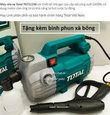 Máy xịt rửa xe Total TGT11236 - 1500W - motor cảm ứng từ