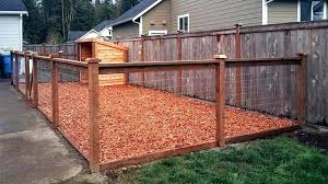 dog pen ideas outdoor kennel gate best flooring