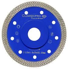 tile saw turbo thin diamond dry cutting blade disc grinder wheel 115mm uk
