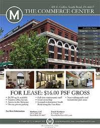 office space for lease flyer commerce center matthews llc