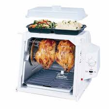 Ronco Rotisserie Cooking Time Chart New Ronco 4000 Compact Showtime Rotisserie Bbq Oven White