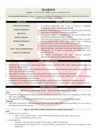 Java Developer Resume Template Sample And Writing Guidemples Format
