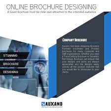 Business Brochure Design Corporate Brochure Designing Auxano