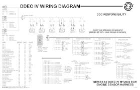 ddec iv wiring diagram ddec wiring diagrams