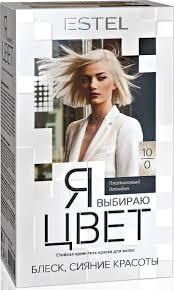 Estel <b>Крем</b>-<b>гель краска для</b> волос Я выбираю цвет тон ...