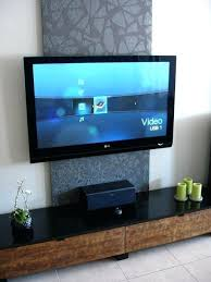 hide tv cords on wall wall mounted cord hiding how