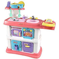 Attractive Fisher Price Grow With Me Cook And Care Pink Kitchen