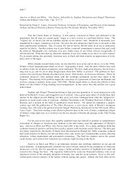 page 1 America in Black and White: One Nation, Indivisible by Stephan  Thernstrom and Abigail Thernstrom (Simon and Schuster, Ne