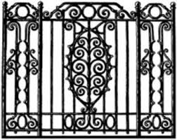 Ornate Wrought Iron Fence Ornate Wrought Iron Fence E Nongzico
