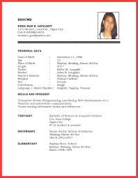 Comprehensive Resume Template comprehensive resume sample memo example 24