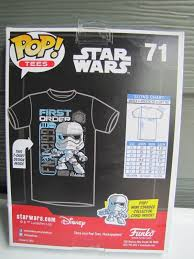Funko Pop Tees Size Chart New Marvel Funko Pop First Order And 50 Similar Items