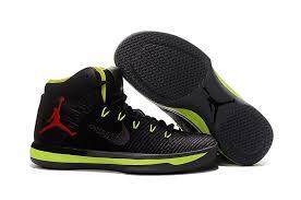 jordan basketball shoes 2017. new air jordan xxx1 black green red basketball shoes 2017