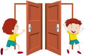 open doors clipart. Royalty Free Boy Open Door Clip Art, Vector Images \u0026 Illustrations Doors Clipart O