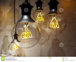 Old School Light Bulbs Old School Light Bulbs Stock Photo Image Of Bulb Interior