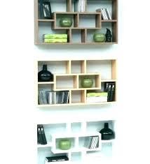 square box shelves white cube wall cubes decorative pallet diy