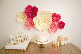 Paper Flower Decor Large Medium Or Small Paper Flower Large Paper Flower Etsy