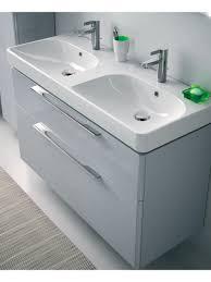 bathroom double sink vanity units. Twyford E500 1200 Grey Double Vanity Unit Wall Hung Bathroom Sink Units N
